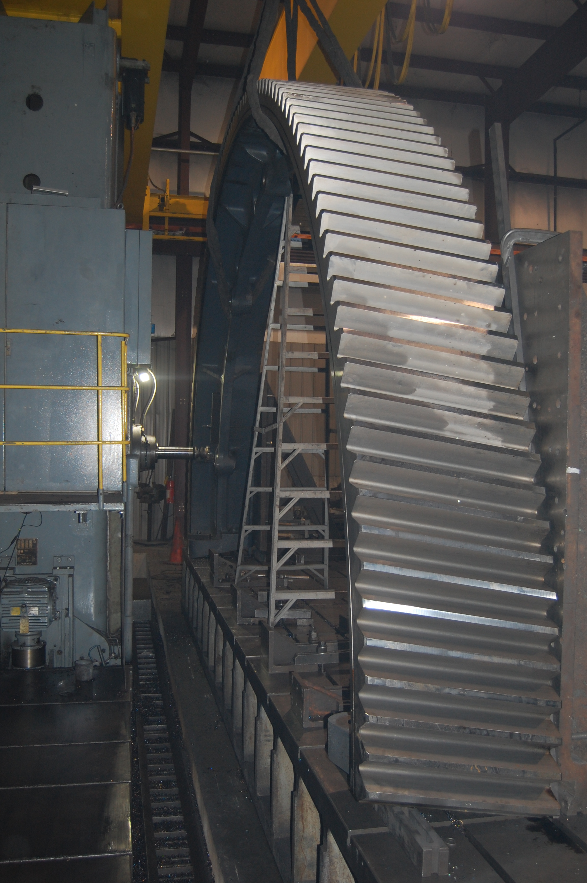 Large Industrial Gear | Barron Machine and Fabrication