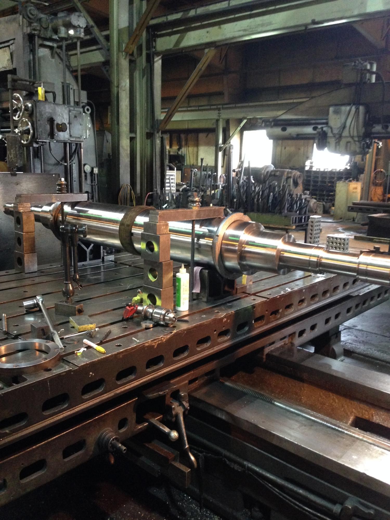 Barron Machine and Fabrication   Precision Shaft