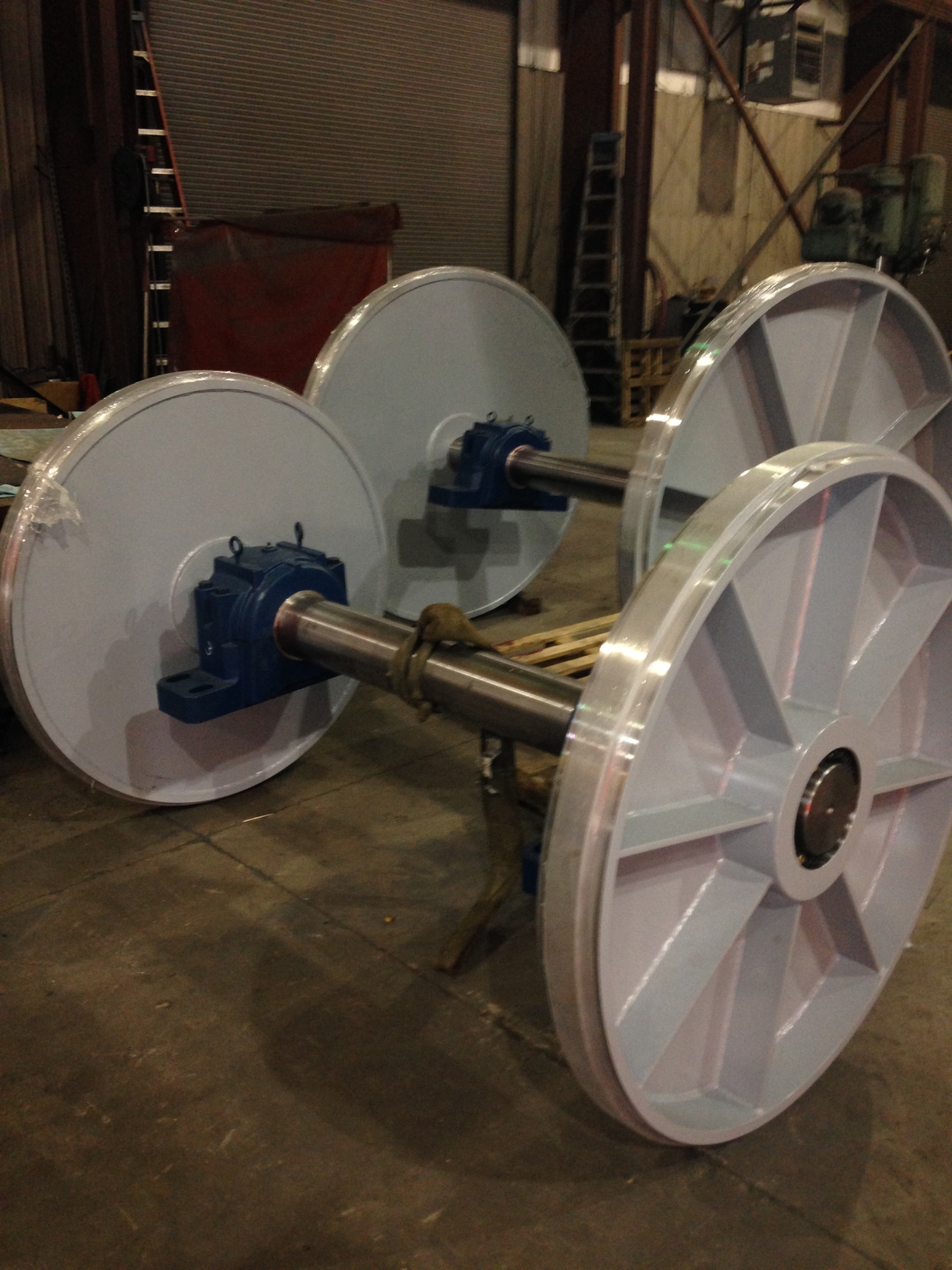 Barron Machine and Fabrication | Large Fabricated Wheels