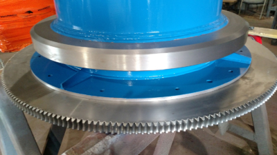 Hydro Tester Machined Part   Barron Machine and Fabrication