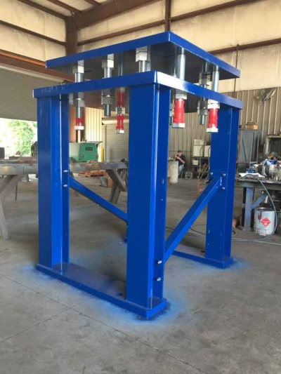 Motor Mount Platform | Barron Machine Fabrication