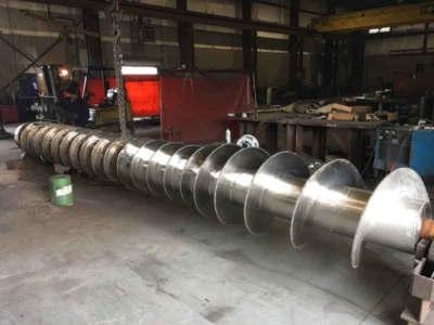 Barron Machine Fabrication | Screw Feeder Repaired