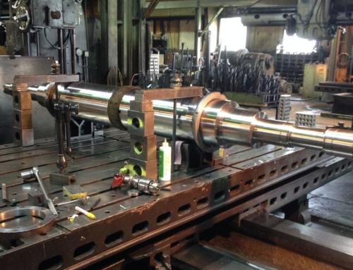 Large Machined Shaft