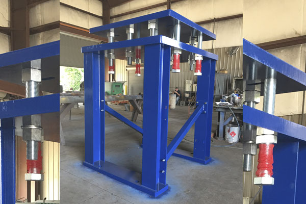 Motor Mount Platform | Barron Machine Fabrication